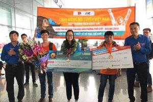 Đoàn Việt Nam ghi dấu ấn tại MOSWC 2018 và ACAWC 2018