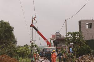 Điện lực Phú Thọ khắc phục sự cố điện do bão số 3