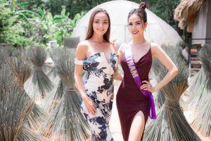 Phan Thị Mơ được đương kim Hoa hậu Đại sứ Du lịch Thế giới khen hết lời