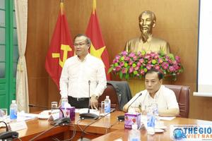 Đoàn Trưởng các cơ quan đại diện Việt Nam ở nước ngoài làm việc với Ban Đối ngoại Trung ương