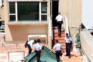 Hiện trường vụ nữ ca sĩ rơi từ tầng 20 xuống đất