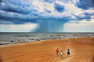 'Điềm báo' nguy hiểm từ đám mây kỳ lạ nhìn hung dữ ở Bà Rịa-Vũng Tàu