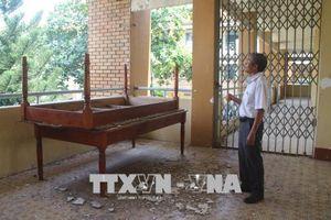 Đồng Nai: Trường đạt chuẩn quốc gia xập xệ chỉ sau 14 năm sử dụng