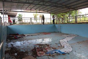 Đắk Nông: Bể bơi gần tỷ đồng 'đắp chiếu'