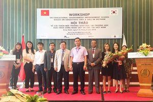 Hàn Quốc đưa ứng dụng công nghệ hiện đại trong giáo dục tới Việt Nam