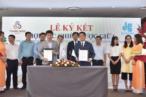 Hòa Bình và Thành Nam Group ký kết hợp tác chiến lược