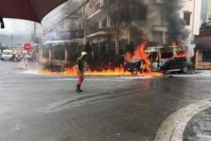 Dùng xe hút bể phốt dập lửa, lãnh đạo huyện Sa Pa nói gì?