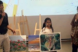 Triển lãm gây quỹ từ thiện 'Vẽ lên cổ tích'