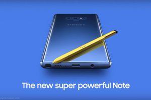 Samsung 'vô tình' tiết lộ hình ảnh chính thức của Galaxy Note 9