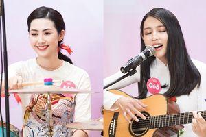 Dàn người đẹp thể hiện tài năng chơi nhạc cụ tại Hoa hậu Việt Nam 2018