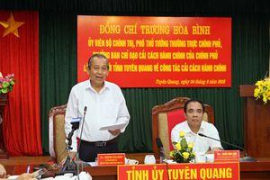 Đẩy mạnh cải cách hành chính