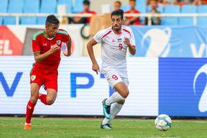 Palestine-Oman thủ hòa chờ 'chiến' tại Asiad 18