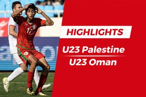 Highlights Olympic Palestine 1-1 Olympic Oman