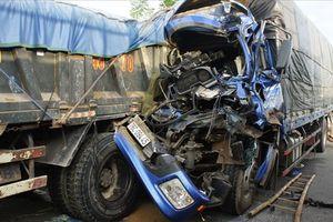 Tai nạn liên hoàn do tránh 2 con bò khiến 2 người bị thương nặng