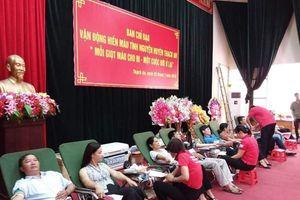 Cao Bằng: LĐLĐ huyện Thạch An vận động hơn 200 ĐV hiến máu tình nguyện