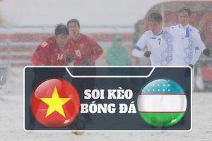 Soi kèo U23 Việt Nam vs U23 Uzbekistan: Trả món nợ Chung kết U23 Châu Á