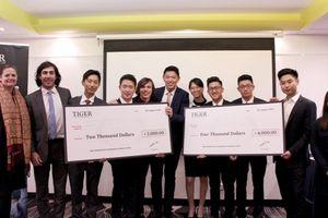 Học sinh Việt Nam đoạt chức vô địch cuộc thi tình huống kinh doanh ở Úc