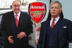 Tỉ phú Mỹ vung 600 triệu bảng để thôn tính Arsenal
