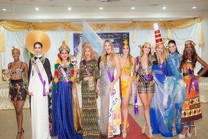 Áo dài của Phan Thị Mơ lọt Top 10 trang phục Eco Tourism Competition