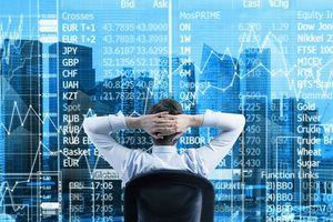 Chứng khoán giảm 2,8% điểm chỉ số nhưng quy mô vốn hóa tăng 10,4%