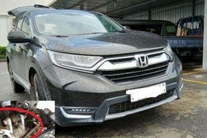 Honda CR-V 2018 mới mua, đi được nửa năm đã rỉ sét nghiêm trọng?