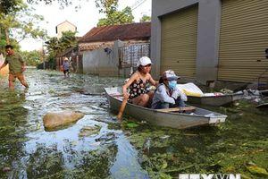 Nước sông Bùi đang ở mức cao, Hà Nội chuẩn bị cho tình huống xấu nhất