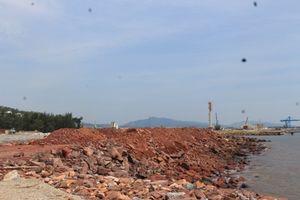 Cty Văn Hoa san lấp trái phép hơn 16.000 m2 bờ biển
