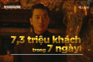 ''Thử thách thần chết 2′ vượt mốc 7 triệu khán giả chỉ sau bảy ngày: Kỷ lục mới của điện ảnh Hàn Quốc