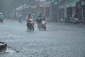 Dự báo thời tiết 7/8: Nhiều nơi có mưa rào từ sáng sớm