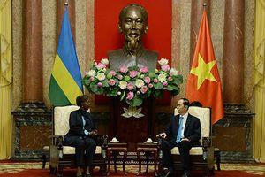 Chủ tịch nước tiếp các Bộ trưởng Ngoại giao Rwanda và Guine