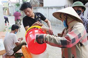 Thông tin hàng trăm người ở vùng ngập, lụt bị viêm nhiễm, lở loét là thiếu chính xác