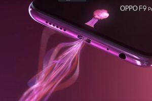 Oppo F9 Pro khoe thiết kế độc và khả năng sạc 5 phút đàm thoại 2 tiếng