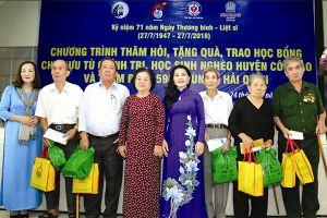 Kim Oanh dành hơn 4,3 tỉ đồng tri ân người có công