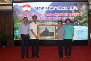 Giao lưu đoàn kết Quảng Bình - TP Hồ Chí Minh