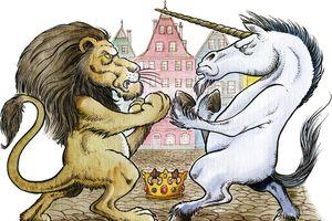 Câu đố về sư tử và kỳ lân nói dối