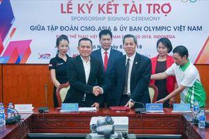 Đoàn thể thao Việt Nam nhận gói tài trợ 700 triệu đồng tại ASIAD 18