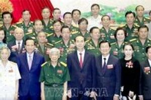 Chủ tịch nước Trần Đại Quang dự Đại hội Hiệp hội Doanh nhân cựu chiến binh Việt Nam