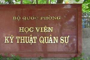 Thí sinh điểm cao nhất Học viện Kỹ thuật Quân sự là người Sơn La