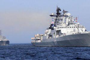 Hạm đội tàu chiến Nga áp sát Anh phô trương sức mạnh