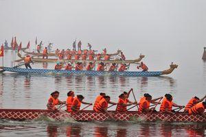 Hà Nội sẽ có lễ hội bơi chải thuyền rồng thường niên