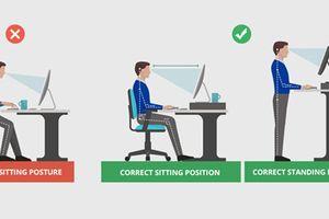 Ngồi và đứng đúng tư thế giúp... học giỏi toán hơn