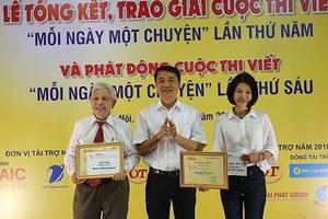 Cụ ông 92 tuổi đoạt giải Nhì cuộc thi 'Mỗi ngày một chuyện'