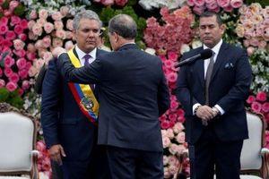 Ông Ivan Duque chính thức nhậm chức Tổng thống Colombia