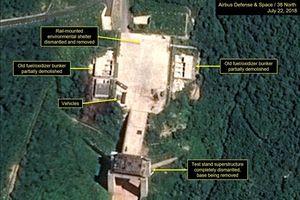 Triều Tiên có thể đang tiến hành dỡ bỏ bãi thử tên lửa Sohae