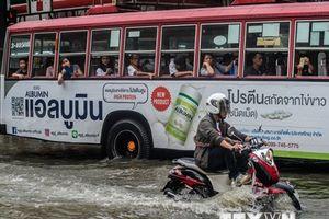Thái Lan: Mưa lớn kéo dài, nguy cơ ngập lụt ở nhiều địa phương