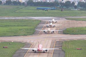 Đèn đường lăn sân bay Tân Sơn Nhất mất điện: Điện lực TP.HCM lên tiếng