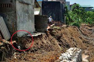 Hà Nội: Sân nứt toác, nhà dọa sập vì đơn vị thi công 'làm liều'