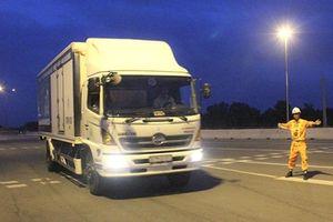 Từ chối phục vụ gần 3.000 xe quá tải qua cao tốc Long Thành