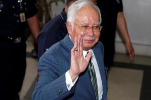 Cựu Thủ tướng Malaysia Najib bị buộc tội rửa tiền