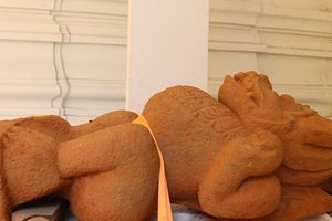 Nhiều hiện vật nghìn năm tuổi tại di tích Chăm Phong Lệ